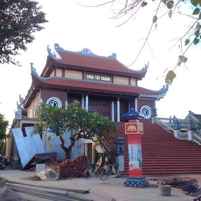 Lắp Chống Sét tại Chùa Tây Khánh, xã Quang Hưng, huyện Kiến Xương, tỉnh Thái Bình